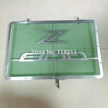 Motorcycle Engine Radiator Bezel Grill Grille Guard Cover Protector Stainless Steel For KAWASAKI Z800 13-15