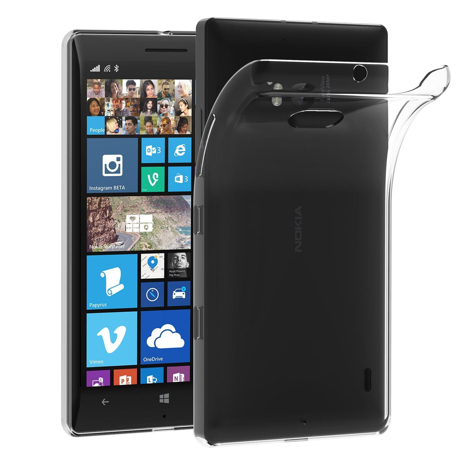 sale retailer 21898 a1a76 US $1.95 |Transparent Case For Nokia Lumia 930 Soft TPU Silicone Gel Clear  Back Bag Coque Case Cover For Nokia Lumia 930-in Fitted Cases from ...