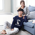 Men Women's Lounge Couples Pajama Sets Korean Sleepwear Couple Pijamas Men Cotton Lovely Character Pyjama