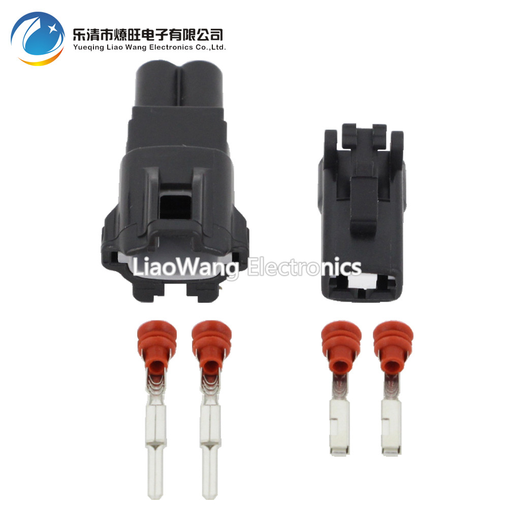 10sets 2 pin female and male auto waterproof electrical wiring