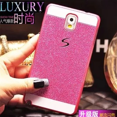 official photos 96e72 f27ac US $4.99 |Fundas For Samsung Galaxy Note 4 Note4 Cute 3d Led Cases Cover By  Pc Gold Hard Waterproof Diamond Mobile Phone Bling Luxury Case-in ...
