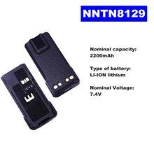 74 v 2200mah литий ионный аккумулятор радио nntn8129 для motorola