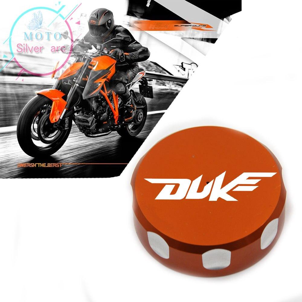 Motorcycle accessories CNC oil pot cover tank caps Rear Brake Reservoir Cover For KTM DUKE 125 200 390 RC200 RC390 2012-2016