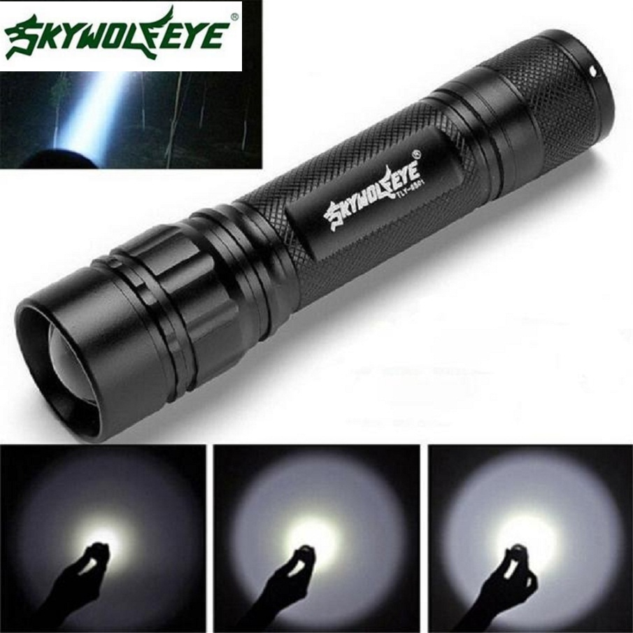 2019 Shining Hot Selling Fast Shipping 3000 Lumens 3 Modes CREE XML XPE LED 18650 Flashlight Torch Lamp Powerful(China)