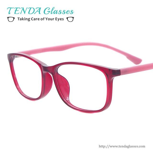 Women Computer Glasses Lightweight Anti Blue Ray Eyewear For Prescription Lenses