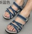 Playa zapatos de los hombres de verano fresco zapatos de ocio 2016 de los hombres jóvenes de Vietnam desgaste movimiento antideslizante sandalias de verano