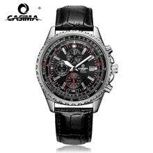 Luxusmarke uhren männer mode-klassiker sport herren quarz-armbanduhr relogio masculino wasserdichte 100 mt CASIMA #8882