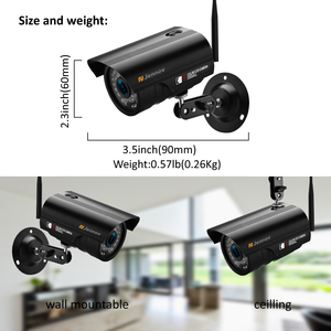 Image 2 - Jennov 8CH 1080P Wireless Wifi Home Security Camera System Outdoor CCTV Set Video Surveillance Kit IP Camera Wi fi 2MP Aduio Cam