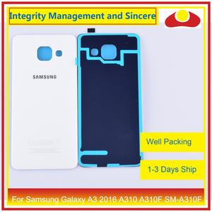 Image 3 - Original For Samsung Galaxy A3 2016 A310 A310F SM A310F A310H Housing Battery Door Rear Back Cover Case Chassis Shell