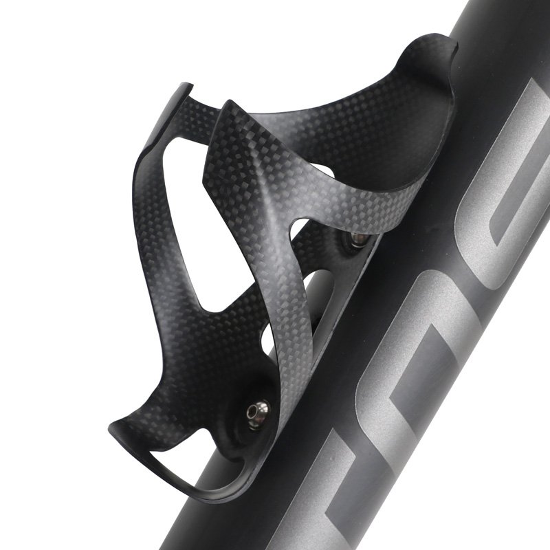 Carbon Fiber Bike Water Bottles Road MTB Mountain Bicycle Cages 3K Glossy 1 Pair