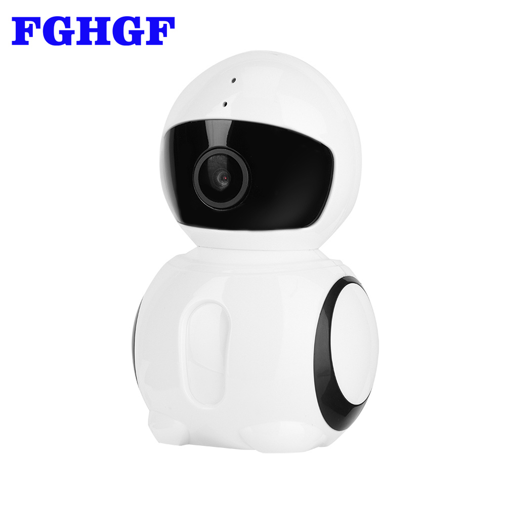 FGHGF 180 Degree Panoramic 1080P Fisheye IP Camera Wifi 2MP Security Surveillance Camera VR 3D Camera support Max 64GB TF Card escam moon qp02 2mp hd 1080p wifi alarm camera outdoor bullet ir cut 180 degree security ip camera support max 64g tf card