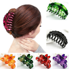 Hot Sale 1Pc New Claws Grips 2 Styles Hairpin Simple Clamp Ponytail Useful Fashion Hair Pin Accessories