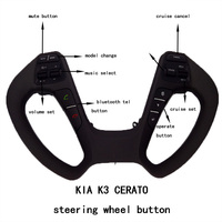 Steering Wheel Button For KIA CERATO K3 2016 2017 With Audio Volume Music Control Cruise Bluetooth