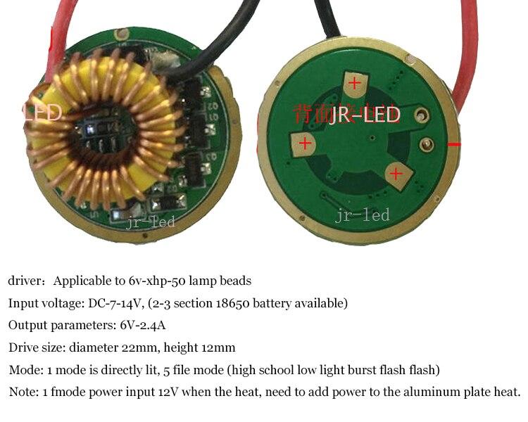 Lâmpadas Led e Tubos xhp50.2 xhp-50 lâmpada led emissor Base : Wring