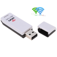 600Mbps 11AC USB 2 0 WiFi Adapter Dual Band 2 4G 5 8G Wireless N Wi
