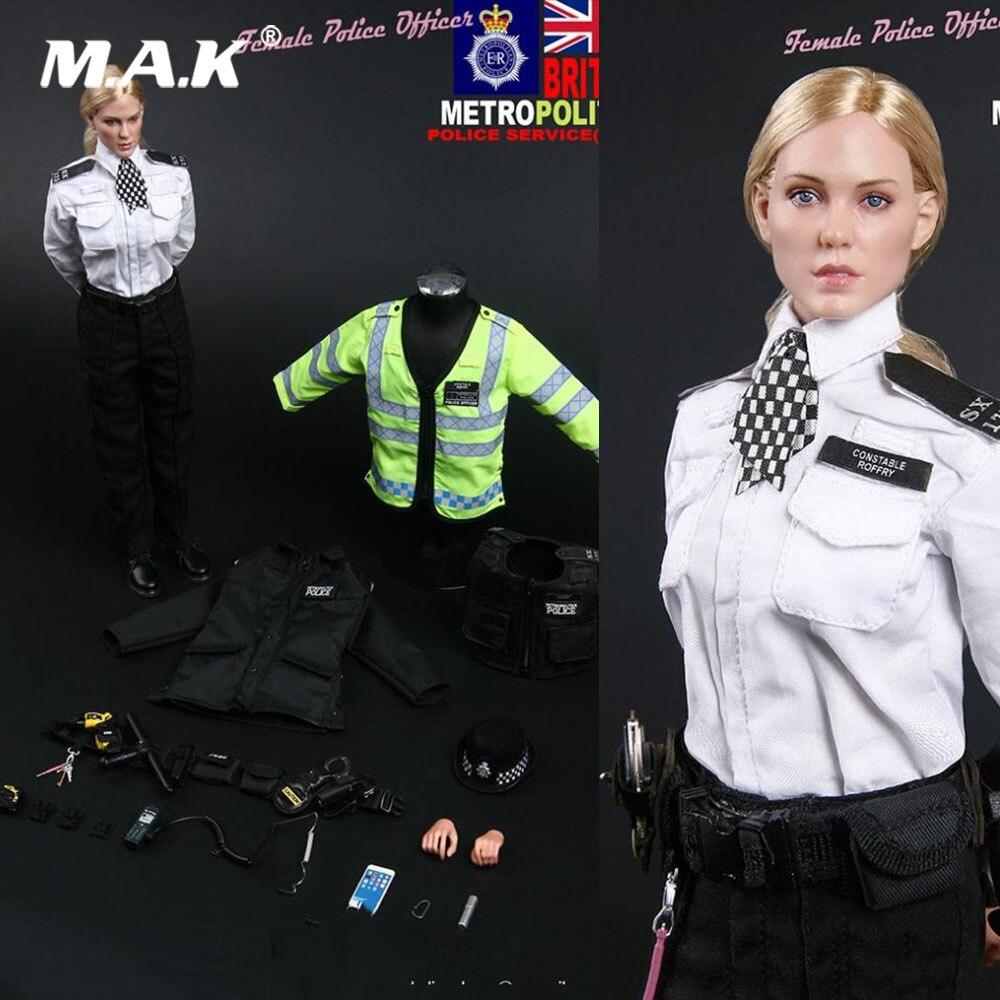 MMS9005 1/6 UK Scotland Yard londres policière britannique métropolitaine femme agent de Police Action Figure jouets pour Fans cadeaux