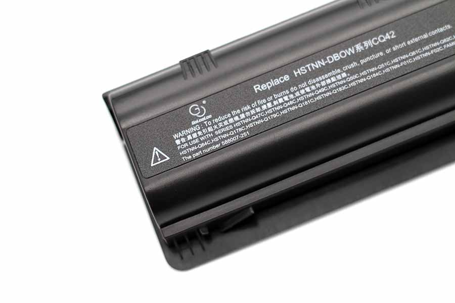 Golooloo 6 cells Battery for HP Compaq Presario CQ42 G62 MU06 DV6 DV7 G4 G6 G7 CQ56 CQ62 CQ72 DV4 DV5 HSTNN LB0W DM4 593553 001 in Laptop Batteries from Computer Office