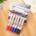 3 шт. цветные магнитные маркеры для белой доски  стирающаяся ручка для белой доски  маркеры для рисования с эффектом сухости для белой бордов...