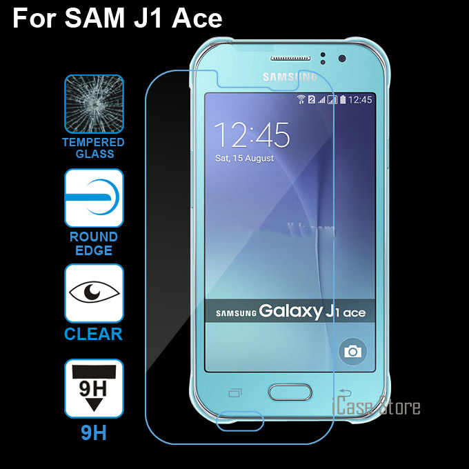 0.26mm 9H tempered glass For Samsung Galaxy J1 Ace J110 J110F J1Ace 4.3inch tempered glass screen protector protective Case film