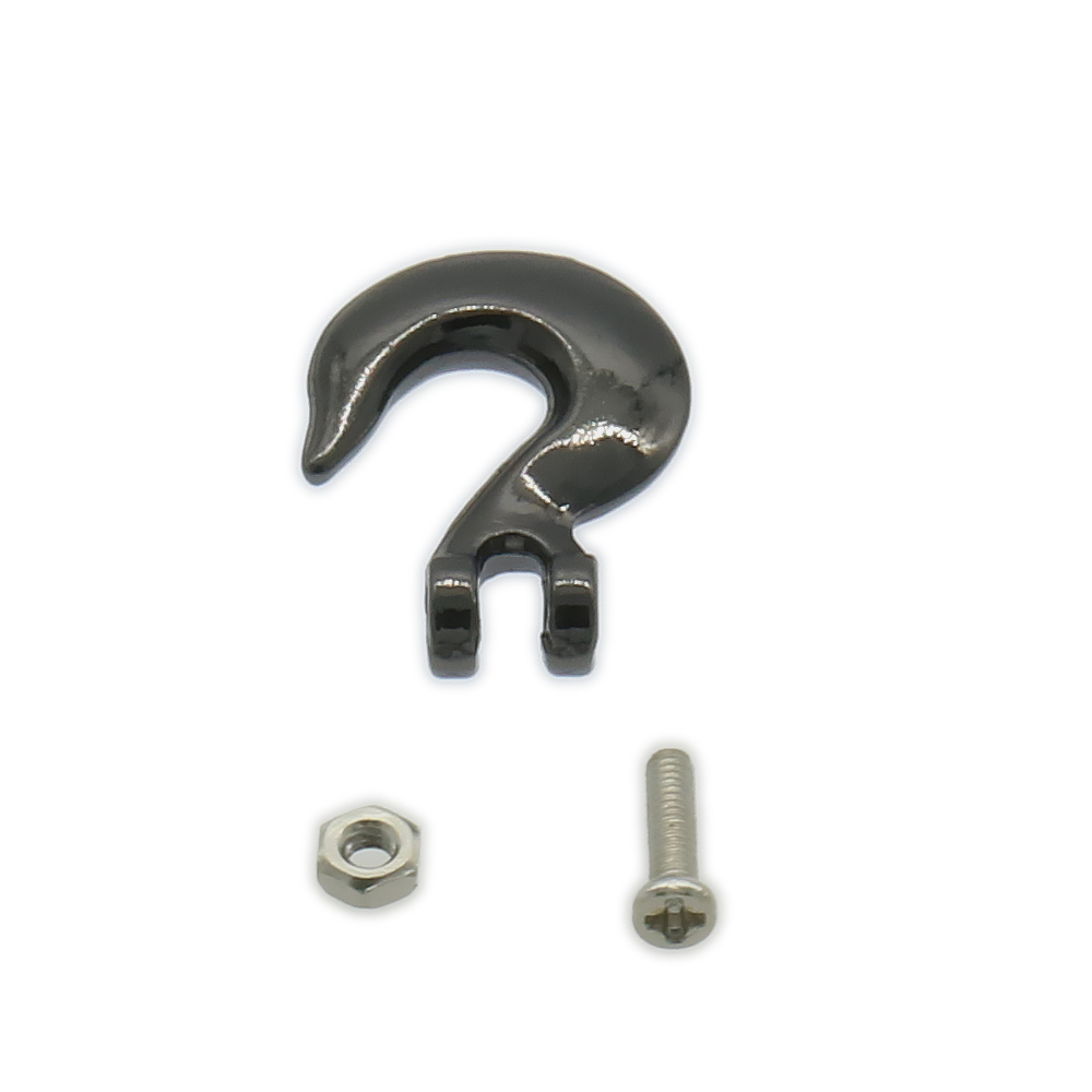 1Set RCAWD Small Size Metal G Shape Trailer Hook, Winch Hook, Rescue Buckle For Rc Hobby Car Crawler Scale Parts FZ0017
