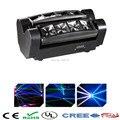 Free&Fast shipping High quality LED Moving Head Light Mini Led Spider 8x10w R2,G2,B2,W2 led Beam Light LED ktv dj disco lighting
