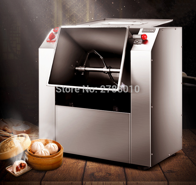 Electric Commercial Kneading Machine Stainless Steel Knead Dough Mixer Dough Mixing Machine 15KG LB-71