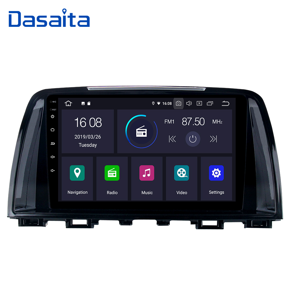 Android 9.0 Car 1 din Stereo for Mazda 6 2014 2015 (no canbus GPS Car Radio Bluetooth 9 IPS Multi Touch Screen image