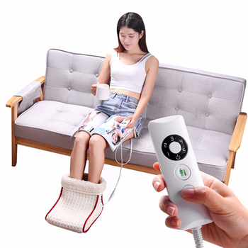 Neu Elektrische Warme Fuß Schuhe Waschbar Multi-funktion Büro Schlafsaal Heizung Füße Wärmer jlrd2018