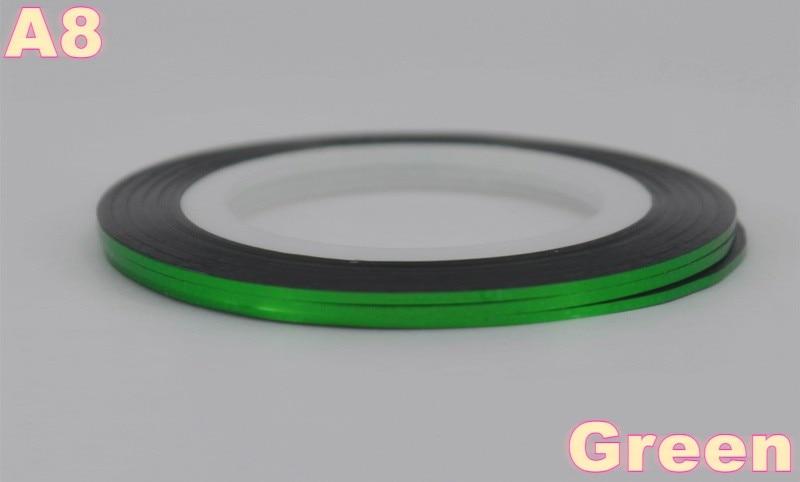 ᐃAl por menor 40 Popular 0,8mm Nail Striping cinta línea para las ...