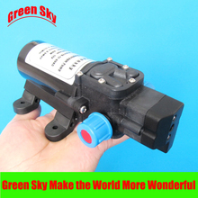 5.5l/min 80w dc automatic pressure switch type with on/off button and socket diaphragm pump 12v high