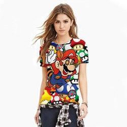 3d funny shirt font b anime b font mario masculina tee shirt homme tee shirt femme.jpg 250x250