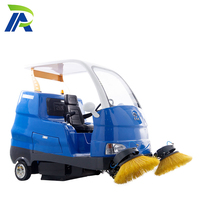 High Preference Electric Cleaning Sweeper Sidewalk Sweeper For Sale Street Cleaning Road Sweeper Machine S18