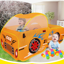 ln stock baby toy tent car model game indoor outdoor children's tent baby play cute large children's toys marine ball pool