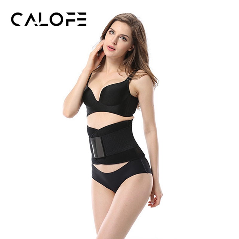 CALOFE Men Women Waist Support Waist Trimmer Belt Unisex Exercise font b Weight b font font