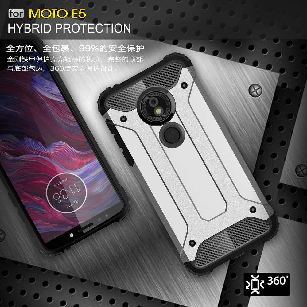 Ударопрочный чехол 5,7 для Motorola Moto G6 Play Case для Motorola Moto G6 Play E5 Dual E 5th Gen Phone Back Coque чехол