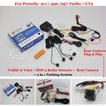 Автомобильная Стоянка Датчики + Камера Заднего вида = 2 в 1 Видео/BIBI Сигнализации Парковочная Система Для Porsche 911 996 997 Turbo/GT2