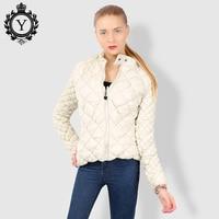 Winter Jacket Women Solid Black Female Down Coats Polyester Clothing Slim Full Sleeve Parka For Women