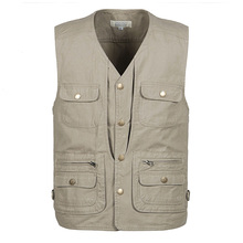 Outdoor Fly Fishing Vest Jackets Breathable Men Unloading Photograph Vest Male Hiking Hunting  Fishing Vest Waistcoats ,GA136