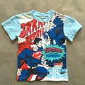 2016 summer cheap price superman cotton short sleeve t-shirts  kids cartoon t shirt baby boys casual tees clothing free shipping