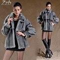 New Design  Fashion Winter Women Faux Fox Mink Fur Coat Woman Luxury Medium Long  Fur Coats Mujer Female Faux Fur Coat