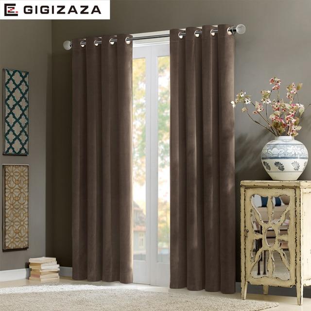 Adel fluwelen glans stof gordijnen black out blinds hoge kwaliteit ...
