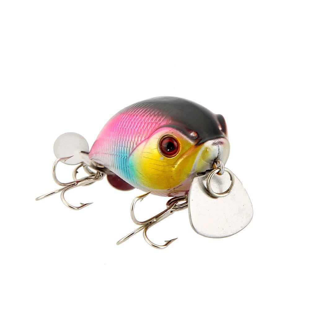 3 Colors Lifelike Hard Sea Carp Fishing Lure Pesca Small ...