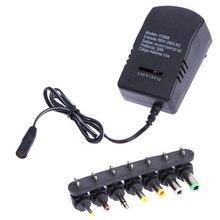 Standard ue ładowarka Cargador uniwersalny AC Adapter DC konwerter 3, 4.5, 6, 7.5, 9, 12 V 30W ładowarka sieciowa zasilacz