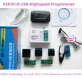 Free Shipping EZP2010 high-speed USB SPI Programmer with 5pcs Adpater+SOIC8 IC Flash Clip/support 24/25/93  bios chip