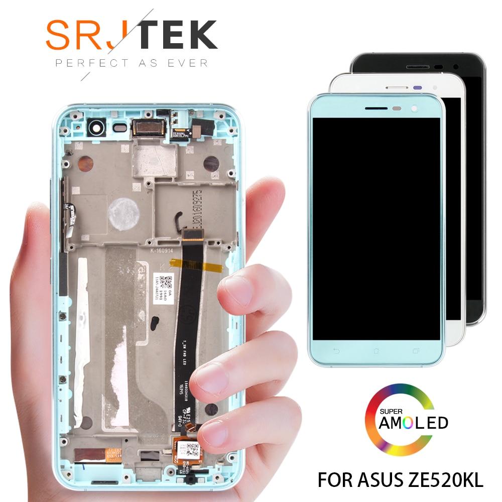 Black/White 5.2 inch For Asus ZenFone 3 ZE520KL Z017D Z017DA Z017DB LCD DIsplay + Touch Screen Digitizer Assembly ReplacementBlack/White 5.2 inch For Asus ZenFone 3 ZE520KL Z017D Z017DA Z017DB LCD DIsplay + Touch Screen Digitizer Assembly Replacement