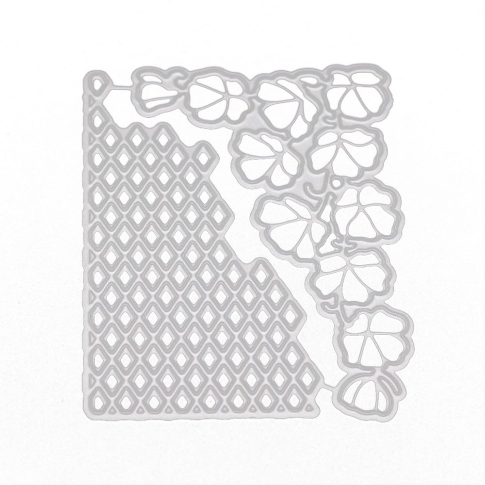 Corner Petal Metal Cutting Dies Stencils For DIY Scrapbooking Decorative Embossing Suit Craft Paper Cards Die Cutting Template in Cutting Dies from Home Garden