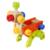 Herramienta de bebé toys niños caja de herramientas multifuncional bebé de juguete de madera combinación de tuerca de madera educación aprendizaje chirstmas/regalo de cumpleaños