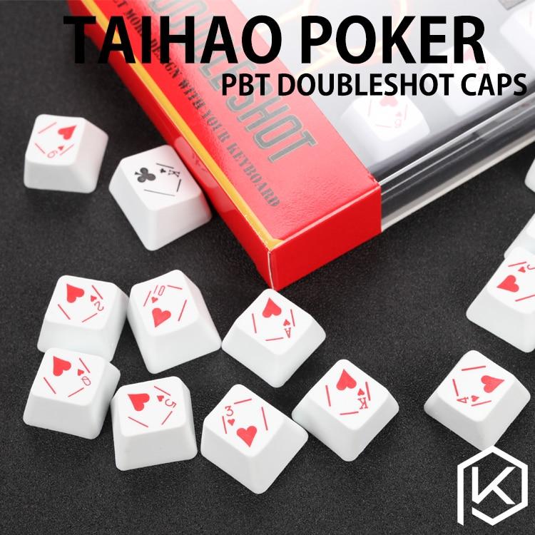 Tai-hao Pbt Poker Novità Set Doubleshot Pbt Cherry Mx Steli Oem Profilo Modelli Alla Moda