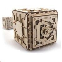 Деревянная игрушка деревянная механическую модель передачи разблокировать головоломки ключ Классическая Забавные игрушки интеллектуаль