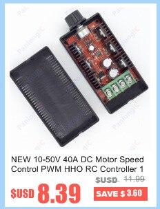 escovado controle de velocidade do motor pwm